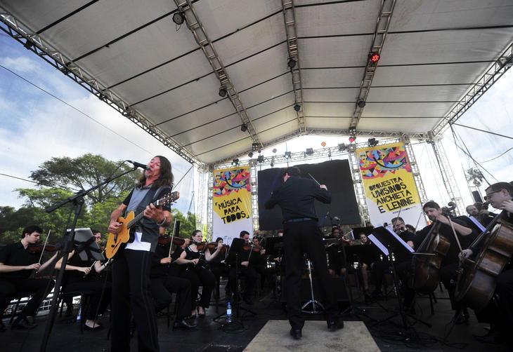 Lenine e Orquestra Unisinos Anchieta - Virada Sustentável