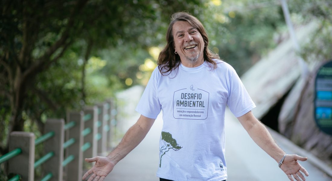 Lenine e WWF-Brasil, juntos para promover a restauração florestal