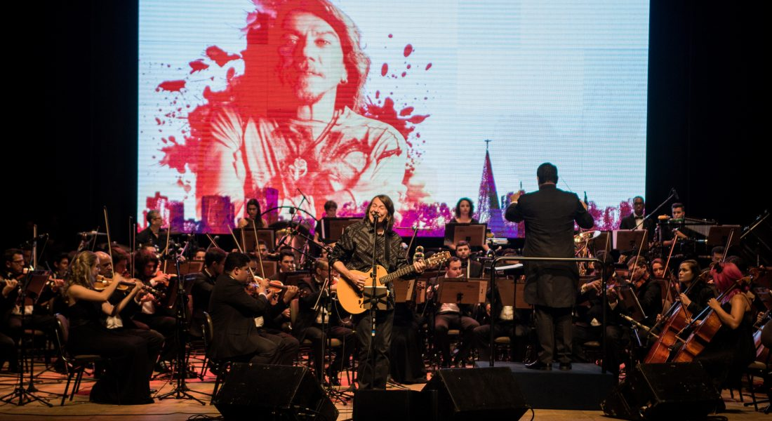 Lenine e Orquestra Filarmonica Unicesumar