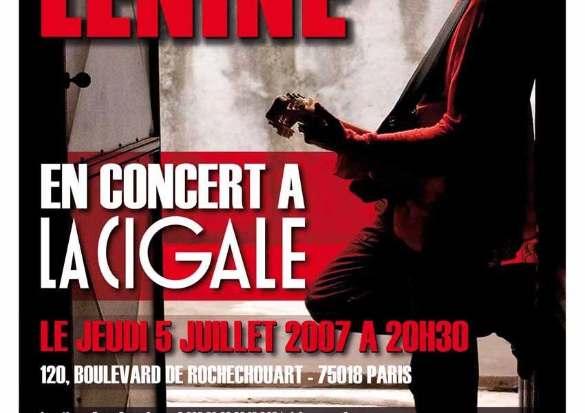 Lenine en concert a La Cigale
