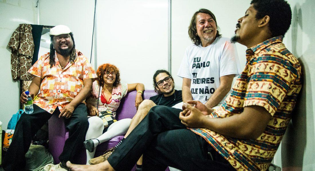Lenine | Participação Carnaval Olinda com Grupo Bongar